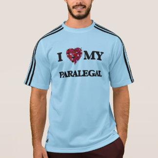 Eu amo meu Paralegal Camiseta