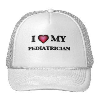 Eu amo meu pediatra boné