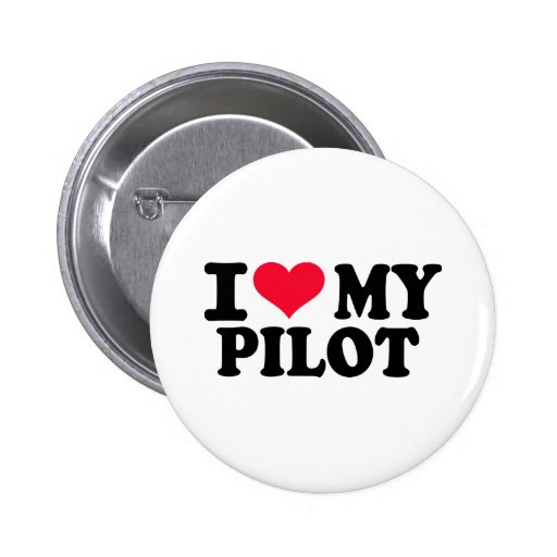 Eu amo meu piloto botons