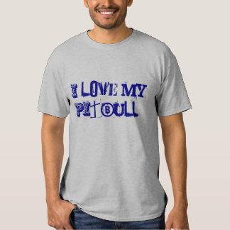 Eu amo meu PitBull! T-shirts