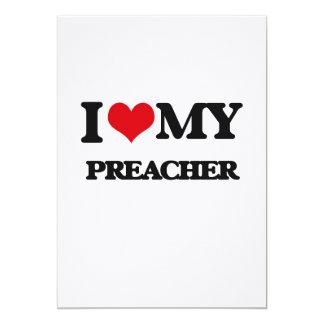 Eu amo meu pregador convites