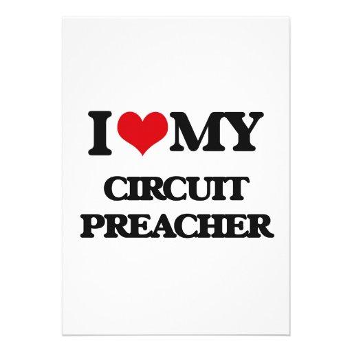 Eu amo meu pregador do circuito convite