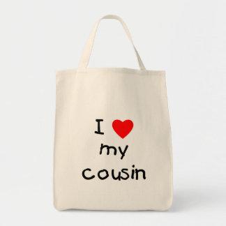 Eu amo meu primo bolsas