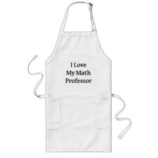 Eu amo meu professor de matemática aventais