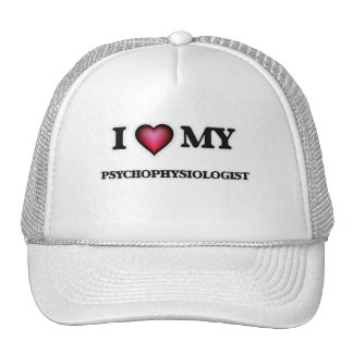 Eu amo meu Psychophysiologist Boné