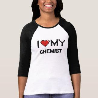Eu amo meu químico camiseta