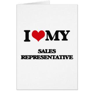 Eu amo meu representante de vendas