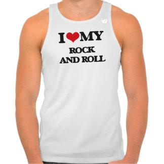 Eu amo meu ROCK AND ROLL T-shirt