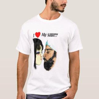 Eu amo meu sikh camiseta