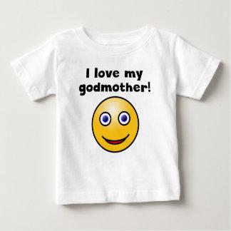Eu amo meu smiley face da madrinha tshirt