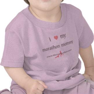 eu amo meu t-shirt das meninas das mamães da