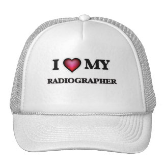 Eu amo meu técnico de radiologia boné