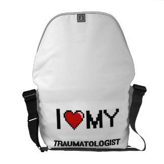 Eu amo meu Traumatologist Bolsa Mensageiro