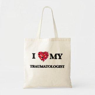 Eu amo meu Traumatologist Sacola Tote Budget