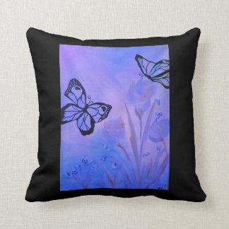 Eu amo meu travesseiro!! Borboleta Almofada