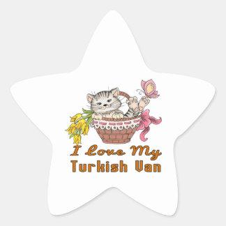 Eu amo meu Van turco Adesito Estrela