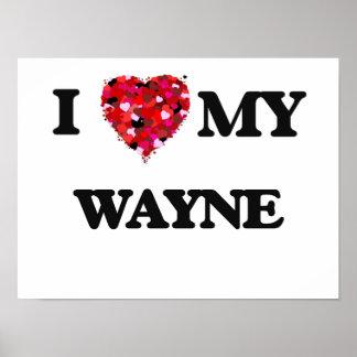Eu amo MEU Wayne Poster