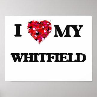 Eu amo MEU Whitfield Poster