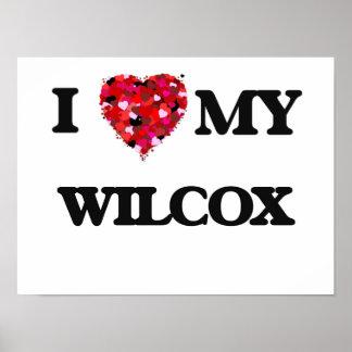 Eu amo MEU Wilcox Poster
