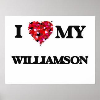 Eu amo MEU Williamson Poster