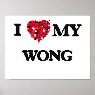 Eu amo MEU Wong Poster