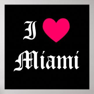 Eu amo Miami Poster