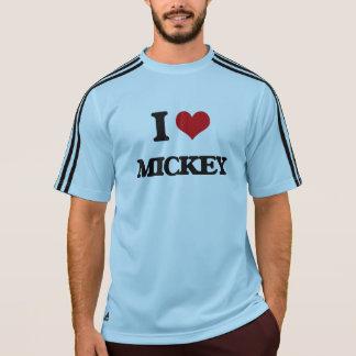 Eu amo Mickey T-shirt