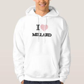 Eu amo Millard (o coração feito das palavras do Moleton Com Capuz