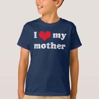 Eu amo minha camisa da mãe t