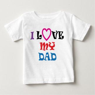 Eu amo minha camisa do pai T