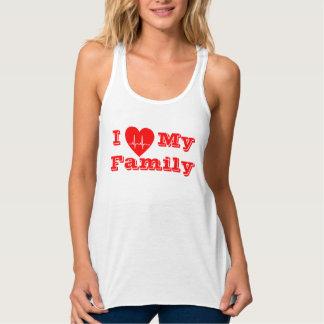Eu amo minha camisa feita sob encomenda do coração