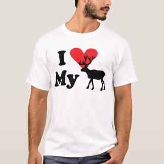 Eu amo minha camiseta da rena