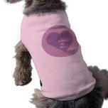 Eu amo minha camisola do cão da mãe camisas para cães