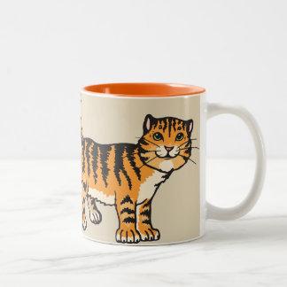 EU AMO minha caneca de café do gato malhado dos