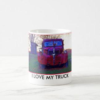 Eu amo minha caneca do caminhão