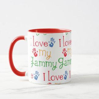 Eu amo minha caneca GAMMY do chá da caneca de café