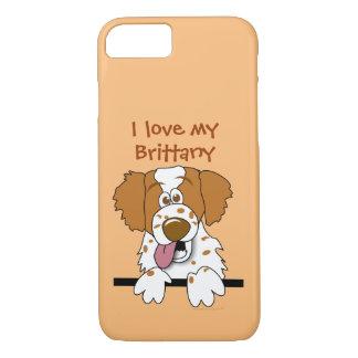 Eu amo minha capa de telefone dos amantes do cão
