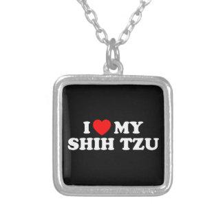 Eu amo minha colar de Shih Tzu