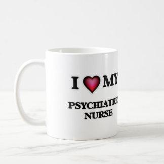 Eu amo minha enfermeira psiquiátrica caneca