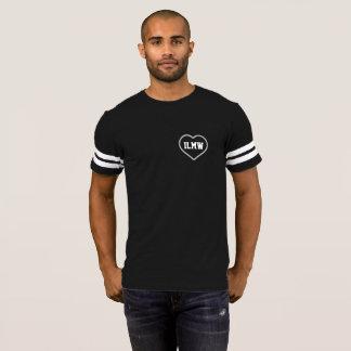 Eu amo minha esposa - coração - camisa do futebol
