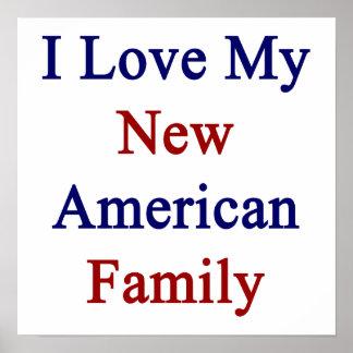 Eu amo minha família americana nova posters
