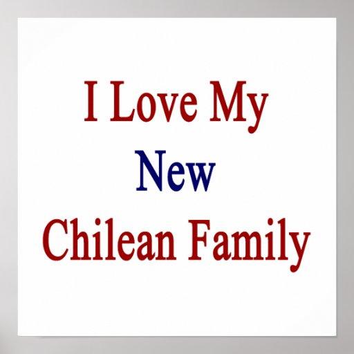 Eu amo minha família chilena nova poster