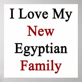 Eu amo minha família egípcia nova