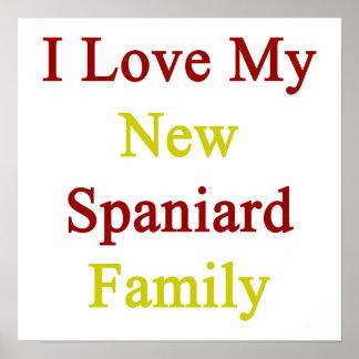 Eu amo minha família nova do espanhol