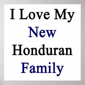 Eu amo minha família nova do Honduran