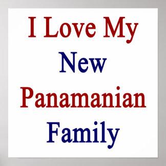 Eu amo minha família panamense nova posters