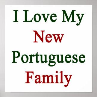 Eu amo minha família portuguesa nova