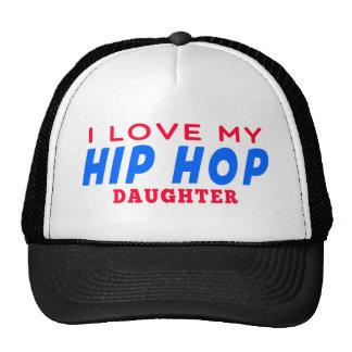 Eu amo minha filha da dança de Hip Hop Bonés