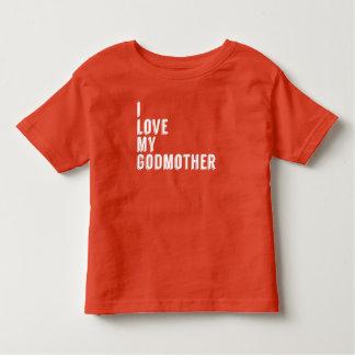 Eu amo minha madrinha camisetas