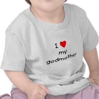 Eu amo minha madrinha t-shirt
